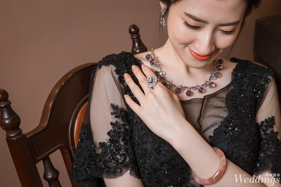 鑽石家,新娘造型,珠寶租借,主婚人造型,文定珠寶,翡翠,水晶