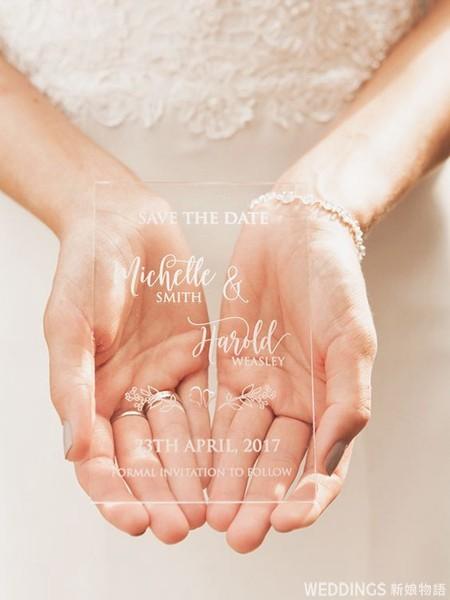 水晶喜帖,特別喜帖,壓克力喜帖,透明喜帖,喜帖,水晶喜帖推薦,結婚喜帖,結婚