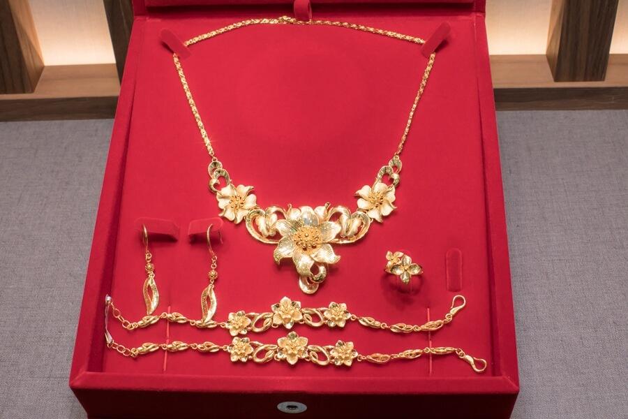 黃金,金飾,金戒指,黃金套組,結婚黃金,金長山
