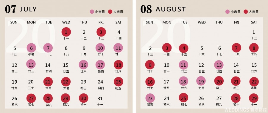 好日子,2020好日子,農民曆,雙春閏月年
