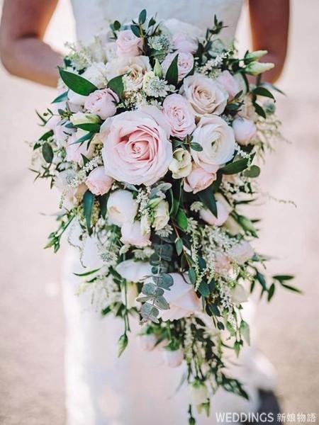 捧花,新娘捧花,粉色捧花,婚紗捧花,捧花推薦,粉色捧花推薦