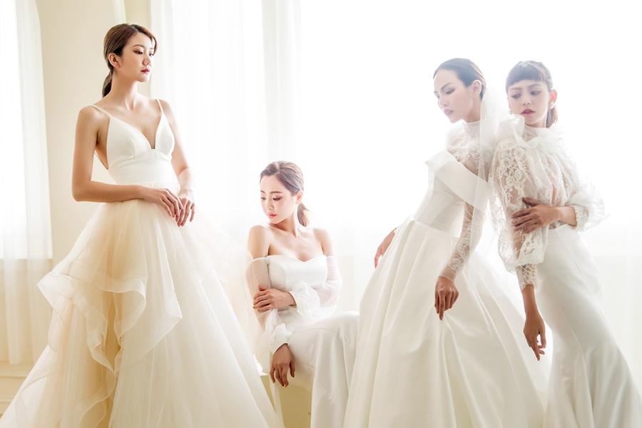 白色婚禮,w wedding,白境,訂製禮服,禮服出租,高雄婚紗,蕾絲,婚紗禮服