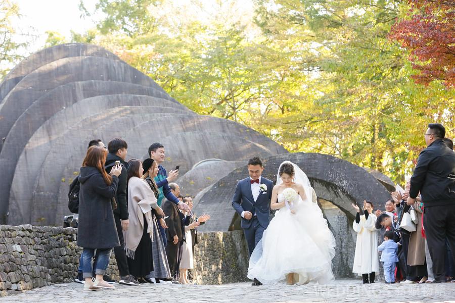 海外婚禮,輕井澤,石之教堂,高原教堂,日本星野,湯桂禎