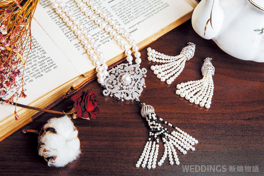 新娘造型,珠寶租借,黃金租借,鑽石家,翡翠,珍珠,主婚人造型