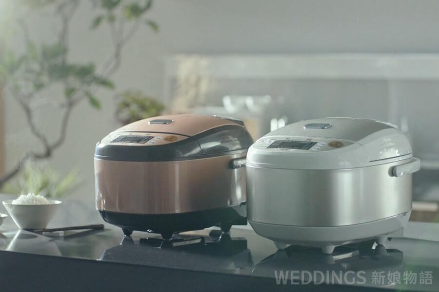 下廚,不沾鍋,廚具,快煮壺,新婚,新居落成,新手入門,烹飪,研磨機,鍋寶,鑄鐵鍋,電子鍋,電烤箱,鬆餅機