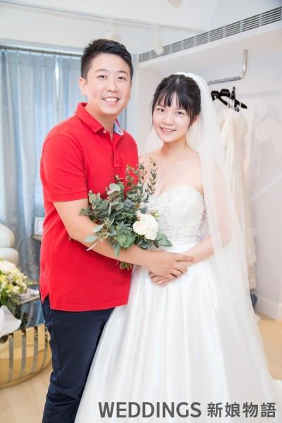 Jasmine Galleria Taipei,訂製婚紗,禮服,蕾絲,婚紗禮服,新娘禮服