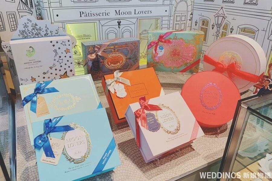 月之戀人,新人,推薦,喜餅,喜餅禮盒,台中,甜點,日式