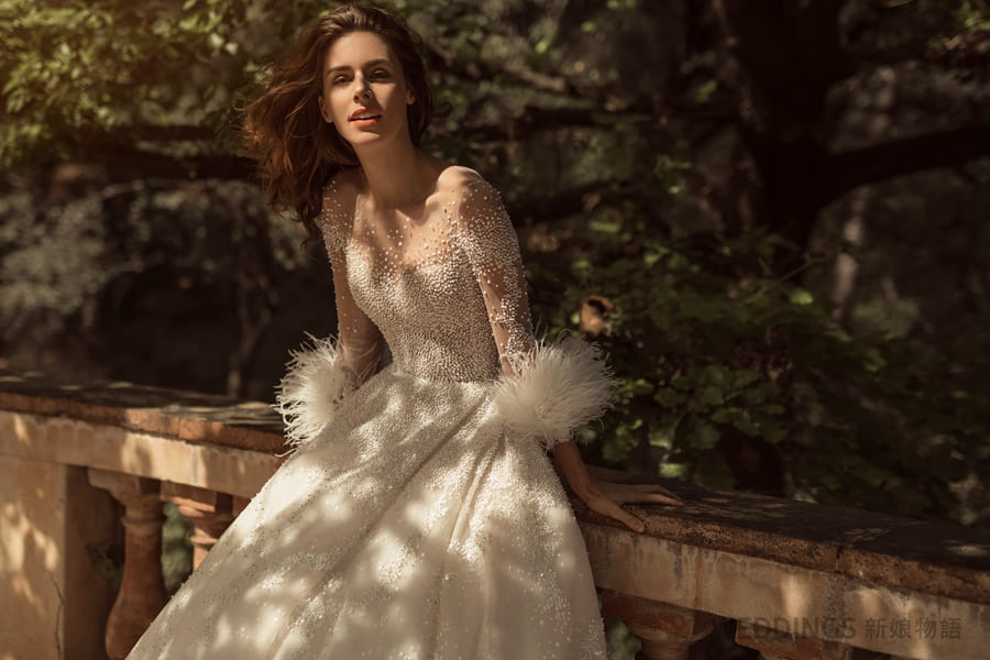 婚紗禮服、the atelier、Jimmy choo、婚紗、拜堂、田中方堂