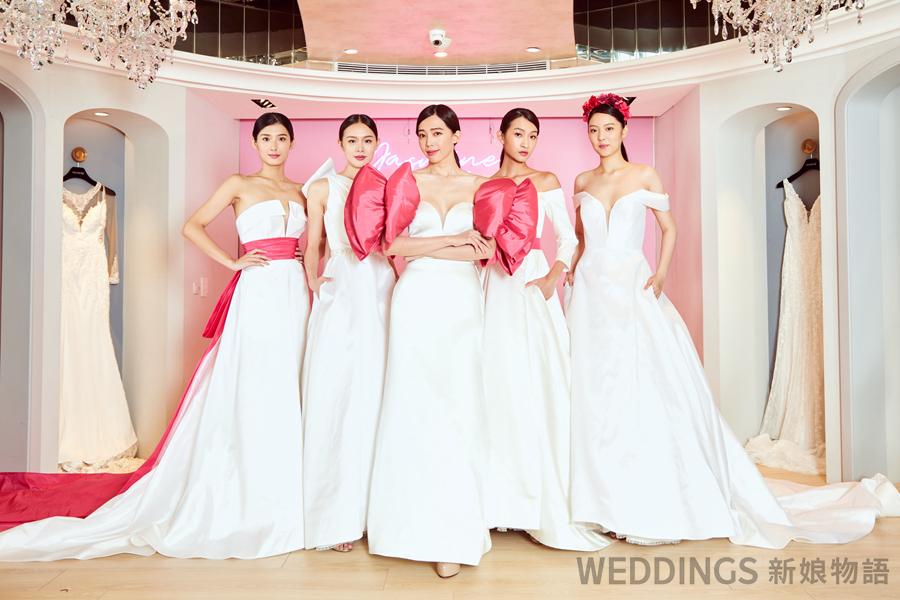 訂製婚紗,Jasmine Galleria,2020婚紗,量身訂製 婚紗,台北婚紗