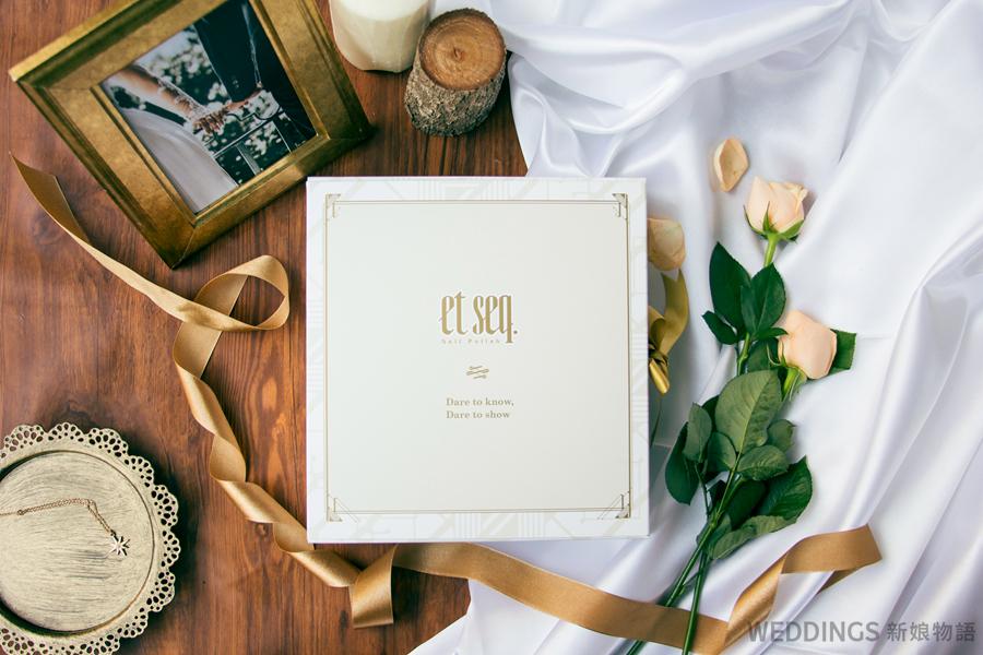 婚紗指甲油搭配,羽毛筆指甲油,婚禮小物,伴娘禮,客製化禮盒