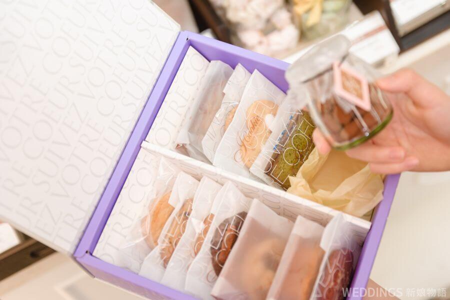 iCookie私房手作,喜餅,喜餅推薦,客製化,喜餅禮盒,訂製,手工喜餅,伊莎貝爾