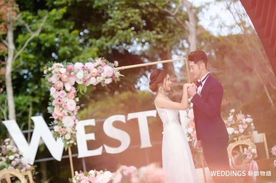 渡假婚禮,婚禮秘境,桃園婚禮場地,桃園戶外證婚,桃園戶外婚禮,桃園大溪笠復威斯汀酒店