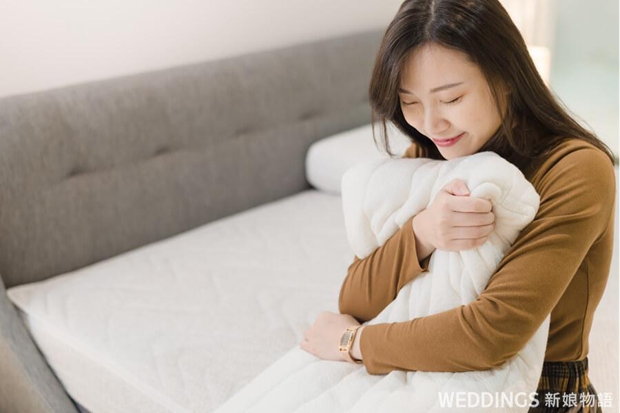 睡眠精品,SleepGalley,新婚,家居,推薦,婚禮主持人,詩肯柚木,寢具,床寢,婚禮,新人