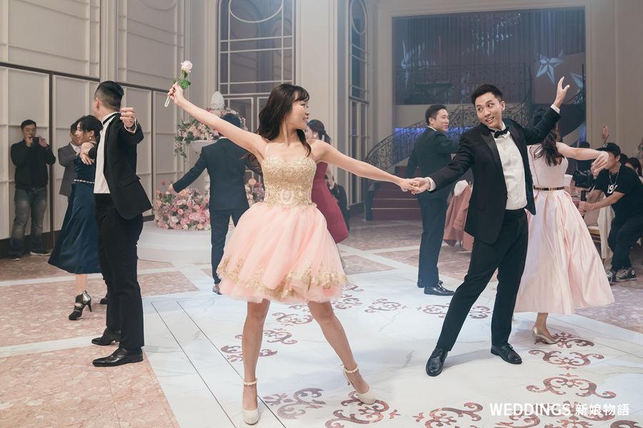 World Dance Studio,新莊典華,法蘿廳,婚禮跳舞,婚禮表演