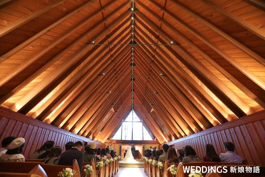 海外婚禮新人這樣說 輕井澤高原教堂 最有記憶點的夢幻證婚