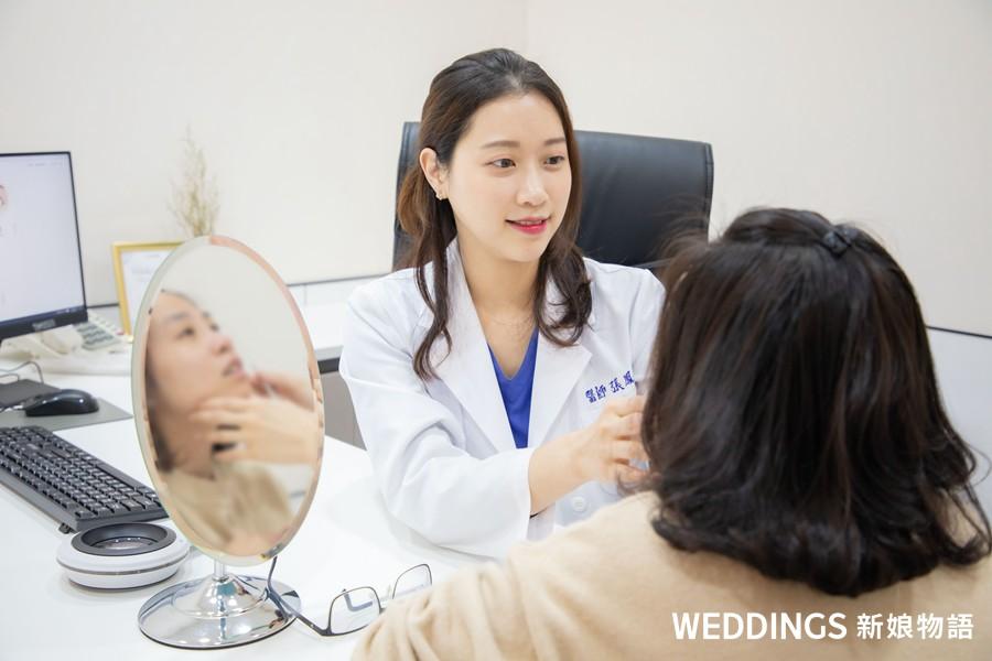 醫美推薦,醫美,藝術面雕,雙眼皮,整形,光澤診所,三庭五眼,張鳳書醫師