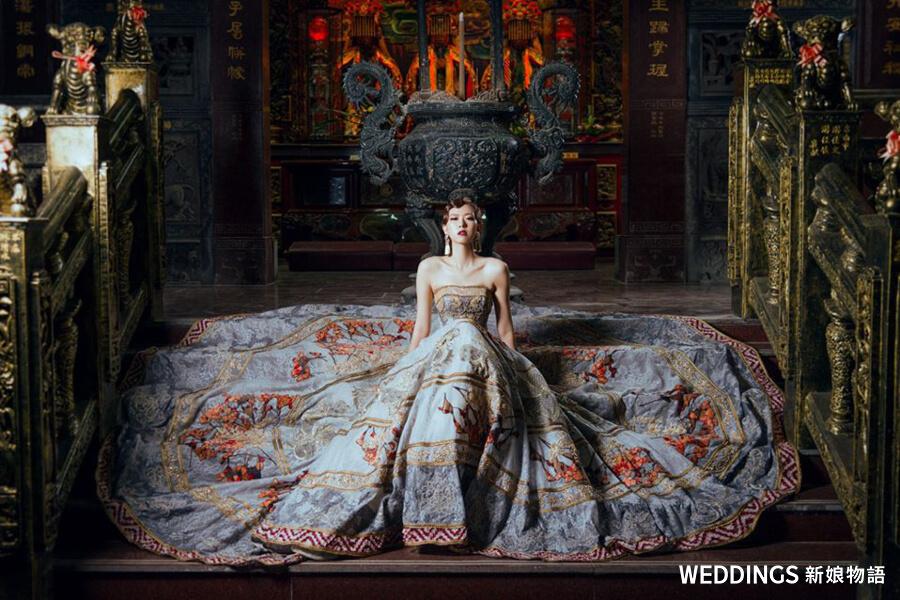台南禮服 出租、晚禮服、婚紗 推薦、輕婚紗、龍鳳掛