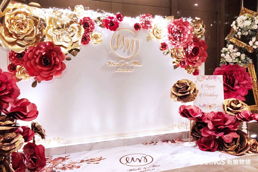 6樓手創,婚禮佈置,紙花佈置,公版佈置,背板出租,鮮花佈置