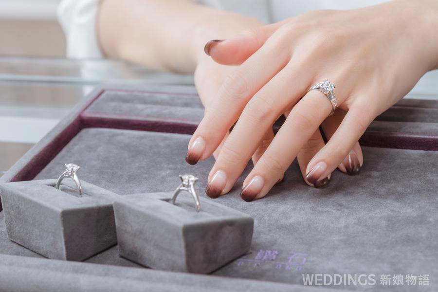 婚戒,京華鑽石,車工,求婚戒,對戒