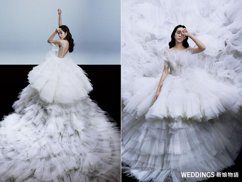 温貞菱,林莉婚紗,白紗,婚紗推薦,禮服出租
