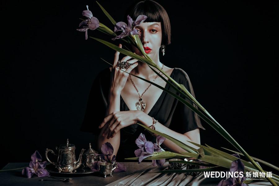 Sony &良大婚紗攝影|珠寶、禮服、花藝共譜花語星辰
