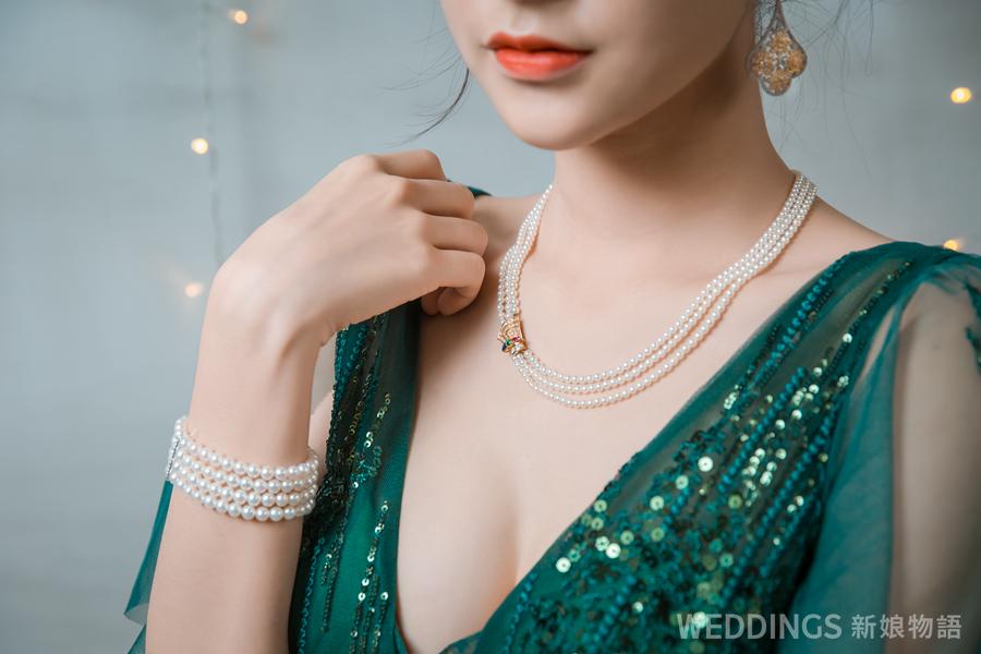 珠寶租借, 結婚珠寶,金飾,有色寶石,翡翠,項鍊,鑽石家