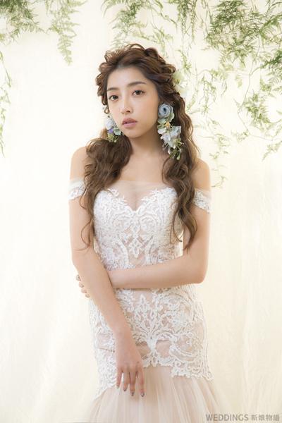 新秘推薦,清新新娘造型 清新新娘造型,花草系,花草造型,新娘造型推薦,浪漫新娘造型