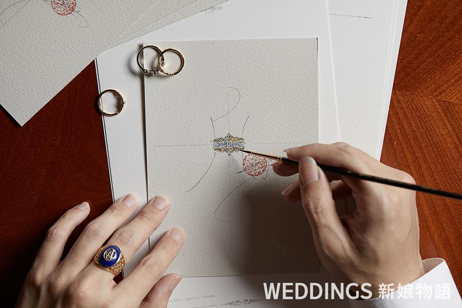 訂製珠寶,珠寶改造,訂製婚戒,私人訂製,高端訂製