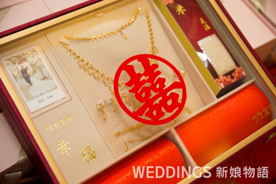 今生金飾,新人分享,婚禮現場,結婚金飾