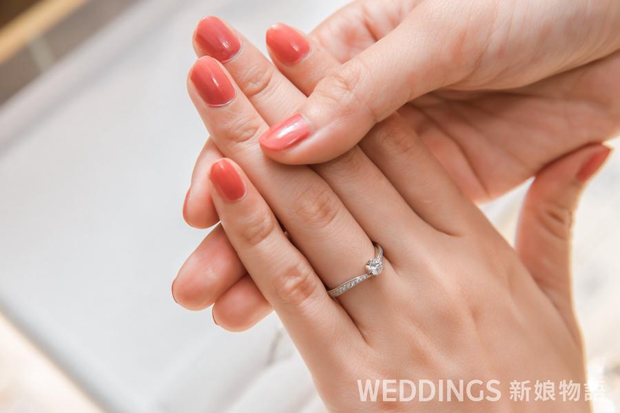 結婚戒指,festaria,小蠻婚戒,婚戒推薦
