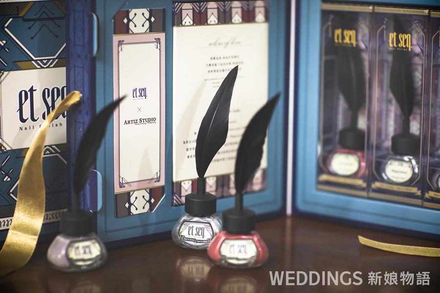 羽毛筆指甲油,韓風婚紗,婚禮小物,et seq.