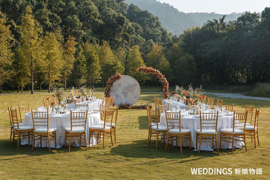 半自助婚禮,台北戶外婚禮,台北青青,婚宴試菜,落雨松婚禮,青青婚宴文創集團,青青食尚花園會館