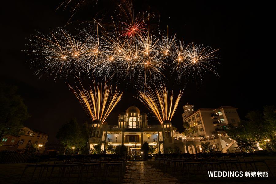 宜蘭婚禮,宜蘭婚禮煙火,渡假婚禮,豪汀堡婚宴,香格里拉冬山河渡假飯店,香格里拉冬山河煙火