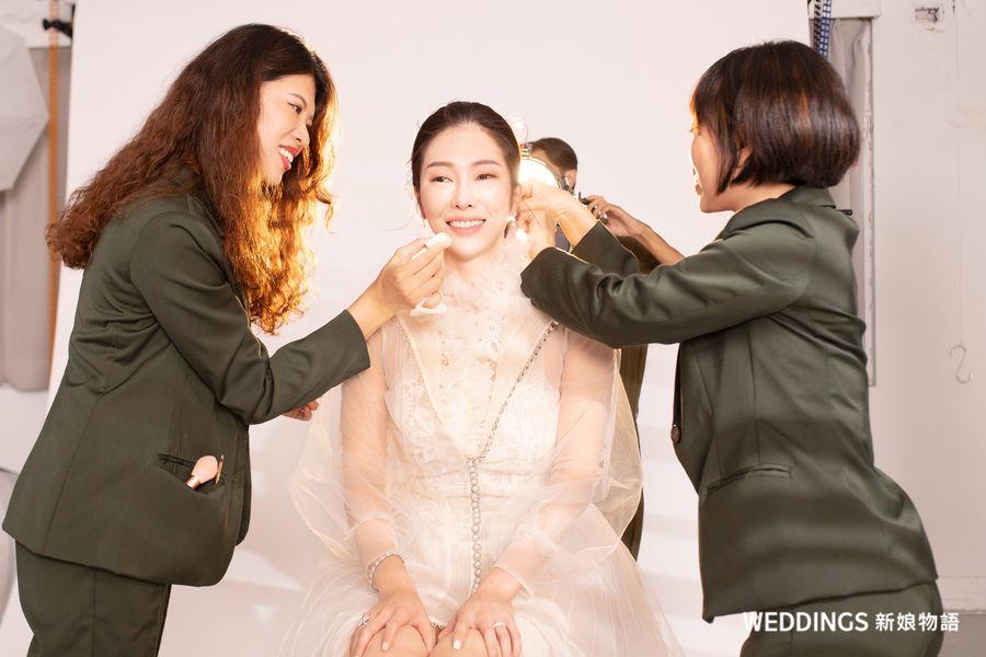 KIMIKO,KK老師,KimiBarre,王教授,KIMIKO結婚,封面人物,新娘物語封面人物
