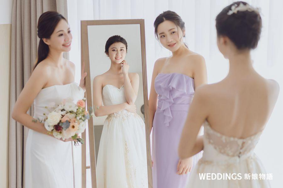 nubra,隱形內衣,婚紗,新娘,禮服,婚紗內衣