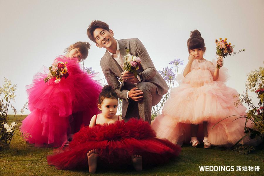 新娘物語,封面人物,KIMIKO,新婚紗禮服,林莉婚紗,修杰楷