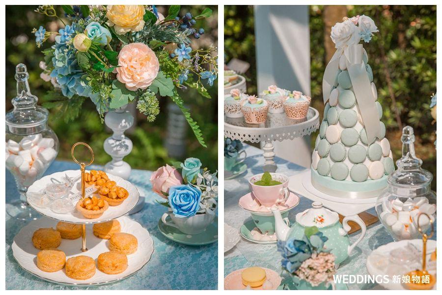 馬卡龍婚禮,婚禮佈置,桃園戶外婚禮,青青格麗絲莊園,花LALA,主題婚禮