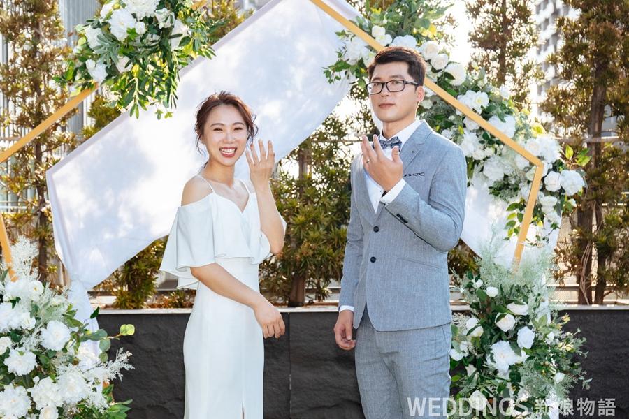 新娘物語,封面人物,KIMIKO,名人婚紗,婚戒,Freiya,訂製婚戒