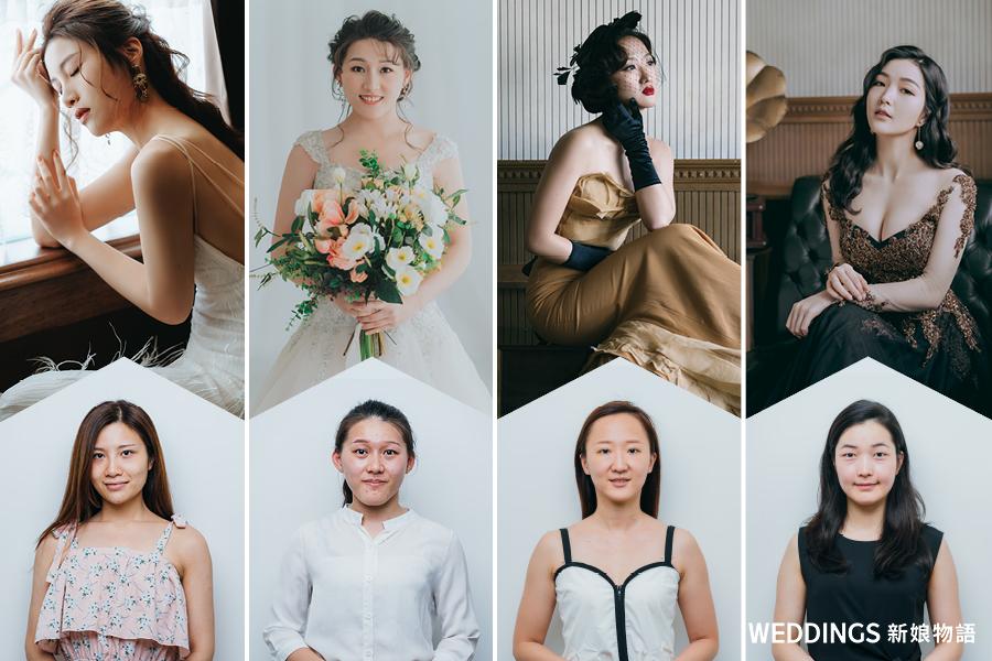 新娘物語,封面人物,KIMIKO,新秘試妝