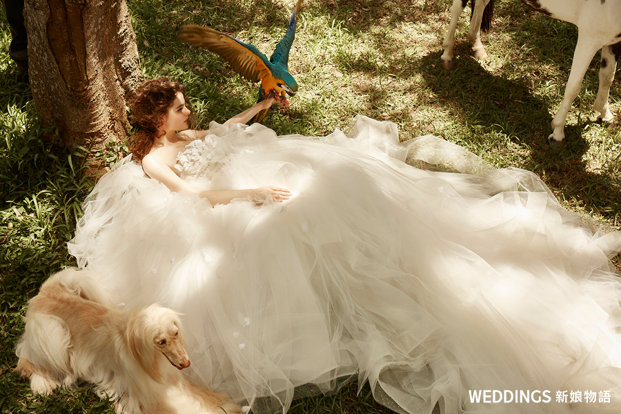 新娘物語,封面人物,KIMIKO,新娘造型,婚紗禮服,蘇菲雅婚紗