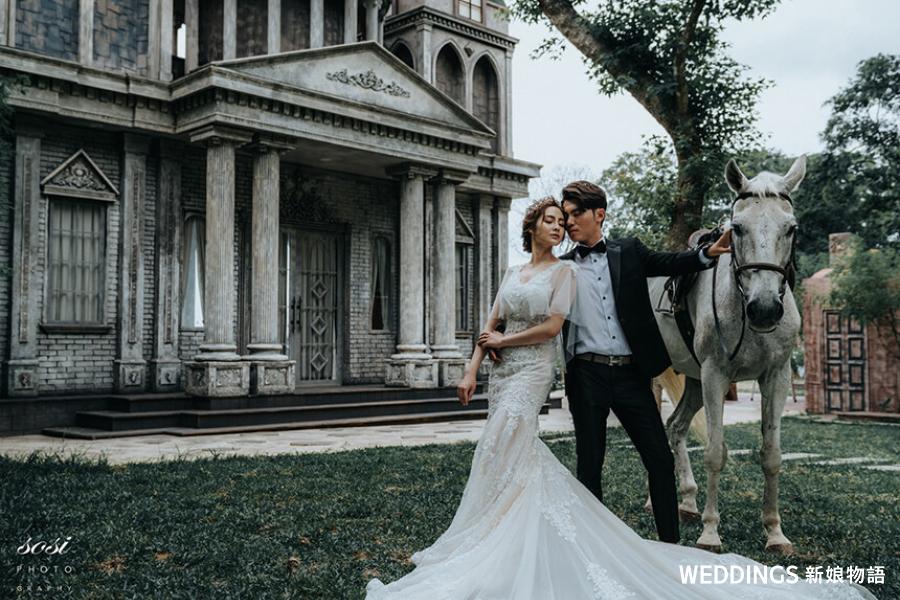 新娘物語,封面人物,KIMIKO,婚紗禮服,韓風婚紗