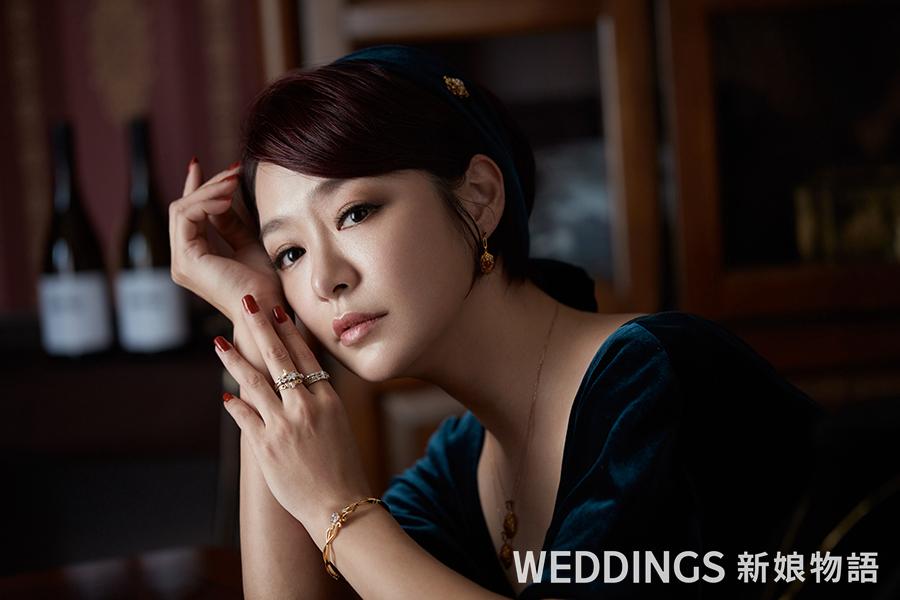 新娘物語,封面人物,KIMIKO,名人婚紗,婚戒,台中訂製婚戒,蜂蜜啤酒