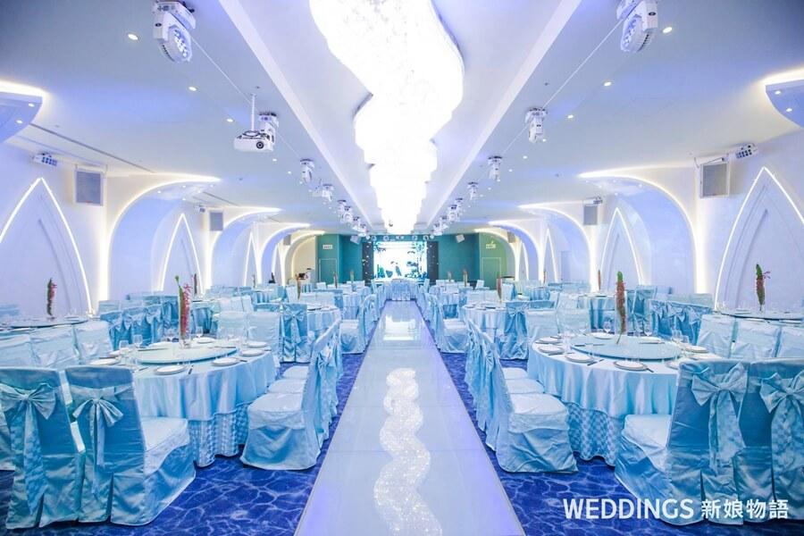 台北婚宴,戶外婚禮,婚宴場地,婚宴試菜,海鮮料理,星靓點,星靓點花園飯店