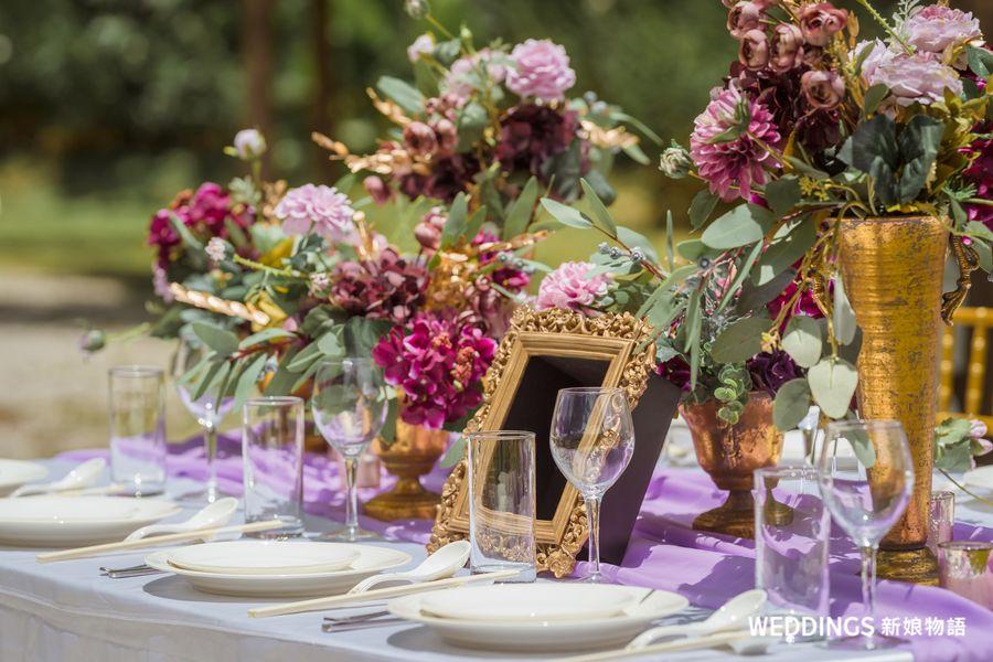 婚禮佈置,紫金文藝婚禮,青青食尚花園會館,台北戶外婚禮場地,戶外婚禮,花LALA