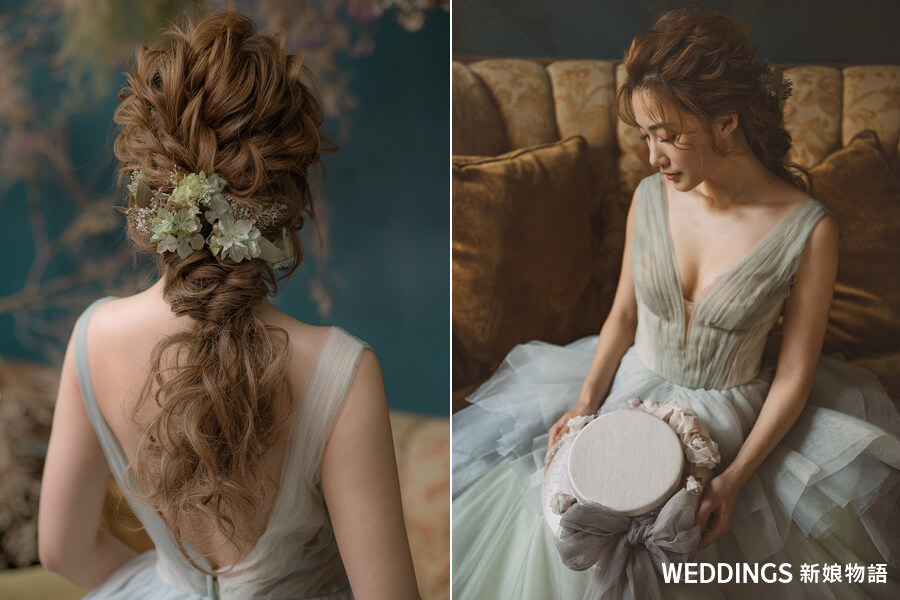 短髮新娘,短髮新娘造型,短髮婚紗,婚禮髮型,韓國短髮新娘,新娘妝髮