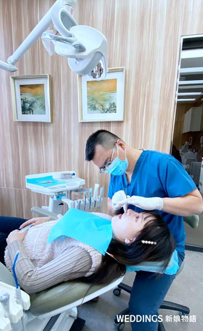 美白貼片,米羅牙醫,牙醫診所,牙齒美白,謝政言醫師,牙醫師