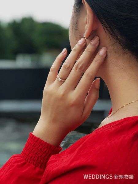 法蝶珠寶,婚戒,輕珠寶,蝦皮,momo,鑽戒