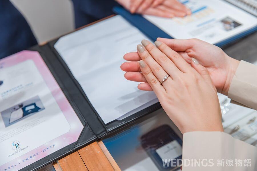 銀座白石,結婚戒指,鉑金戒,日本婚戒