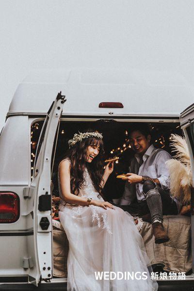 部落客,網紅,MillyQ,米粒Q,婚紗照,拍婚紗,波西米亞,婚紗攝影