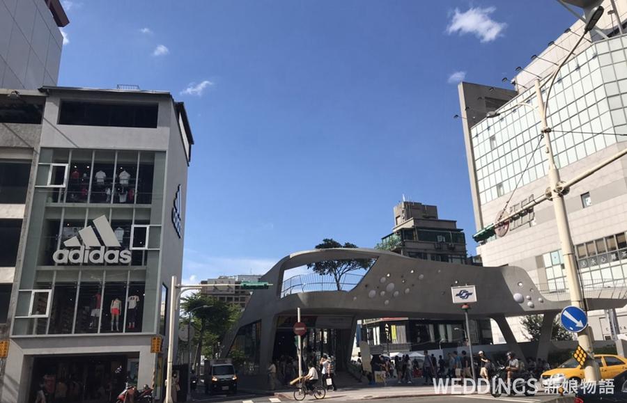 台灣蜜月,心中山,捷運站,大倉久和
